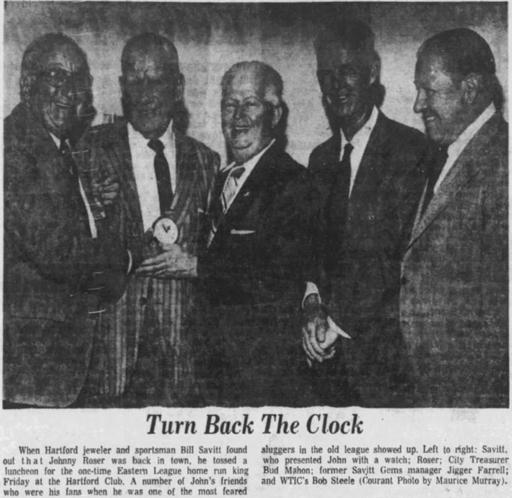 Savitt Gems Reunion, 1974.