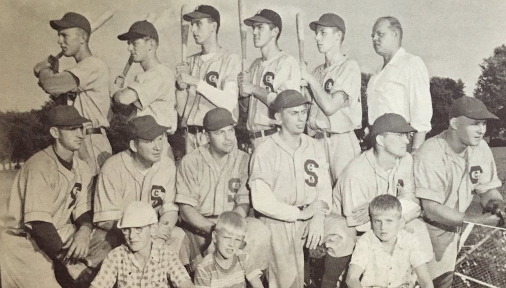 1951 St. Cyril's baseball club at Colt Park.