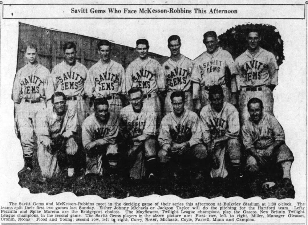 1933 Savitt Gems.