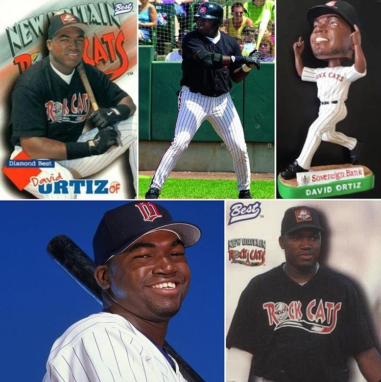 Big Papi David Ortiz New Britain Rock Cats.JPG