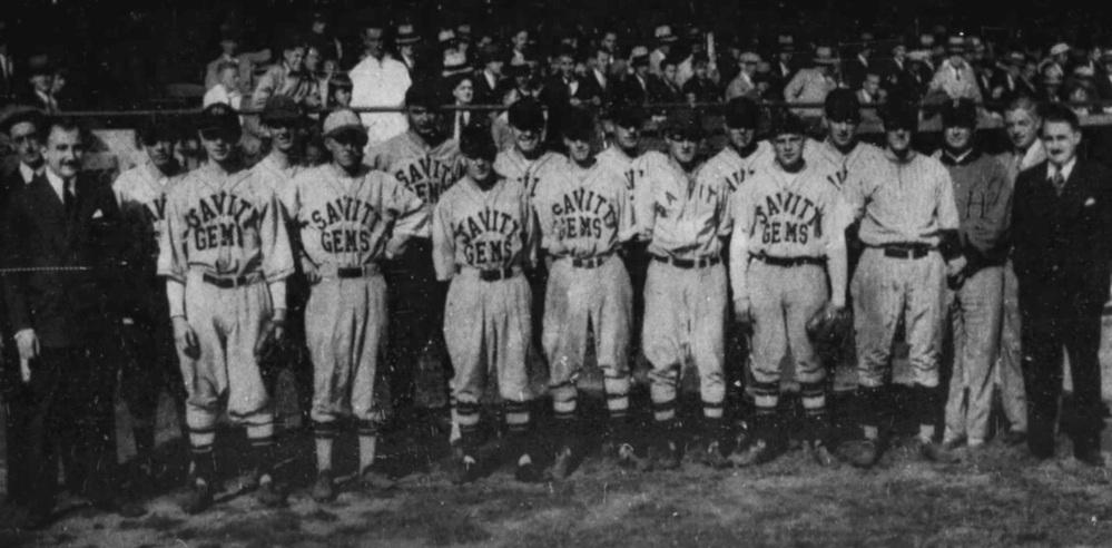 Savitt Gems at Bulkeley Stadium, Hartford, 1932.