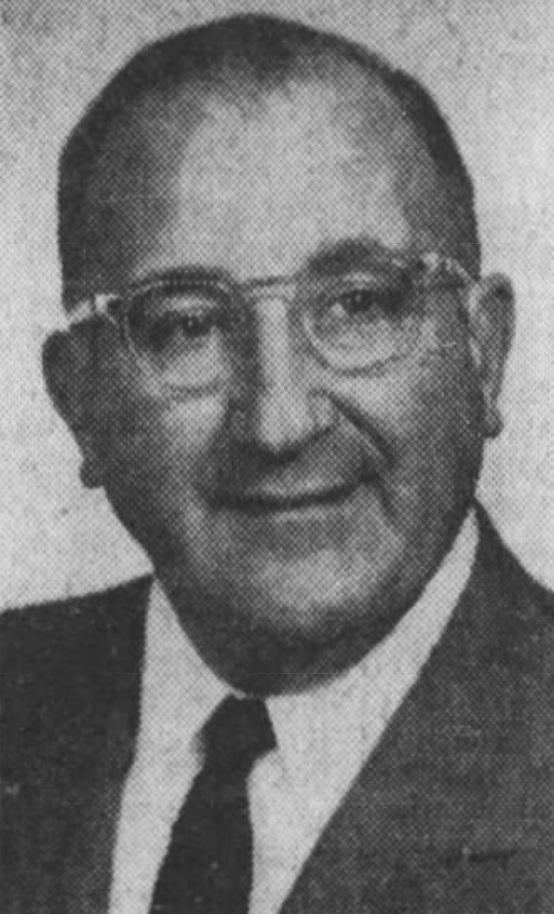 Bill Savitt, 1958.