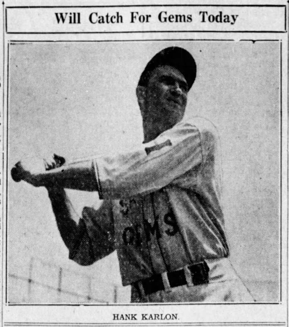 Hank Karlon, Savitt Gems, 1941.