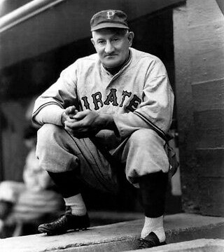 Honus Wagner, Pittsburgh Pirates, 1933.