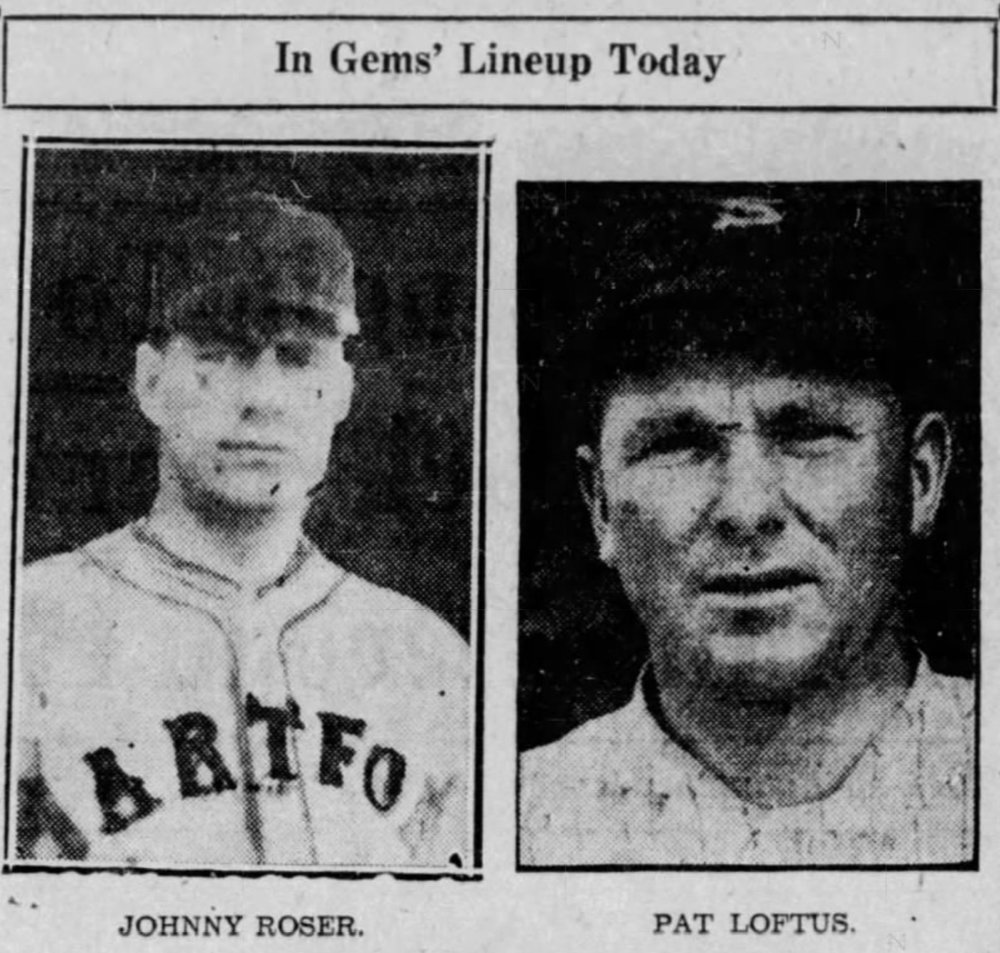 Johnny Roser and Pat Loftus, Savitt Gems, 1933.
