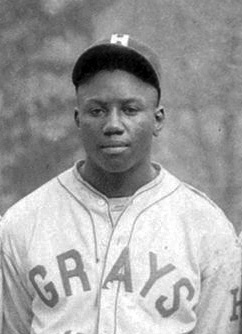 Josh Gibson, Homestead Gray, 1945.