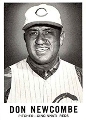 Don Newcombe, Cincinatti Reds, 1960.