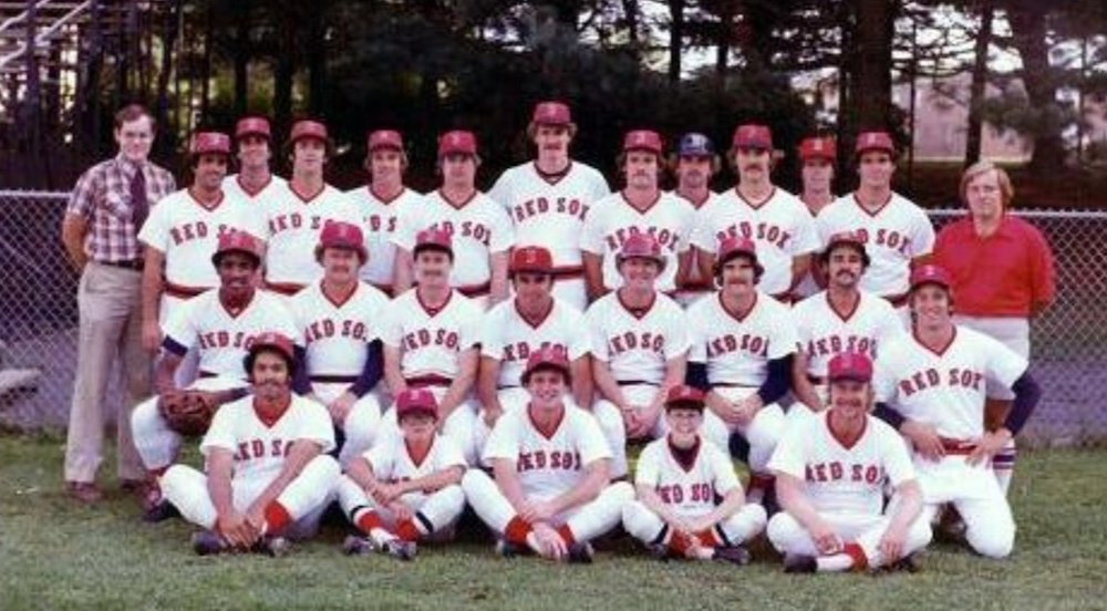 1973 - 1982Bristol Red Sox - The Double-A Boston Red Sox affiliate competes in the Eastern League at Muzzy Field (pictured: 1978 Bristol Red Sox - Wade Boggs standing, center).