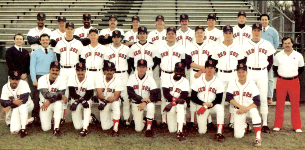 1983 - 1996New Britain Red Sox - (pictured: 1988 New Britain Red Sox)
