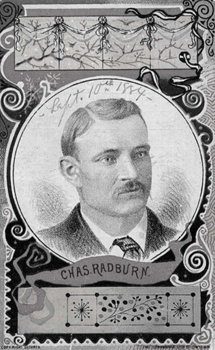 Charles Radbourn, Providence Grays, 1884.