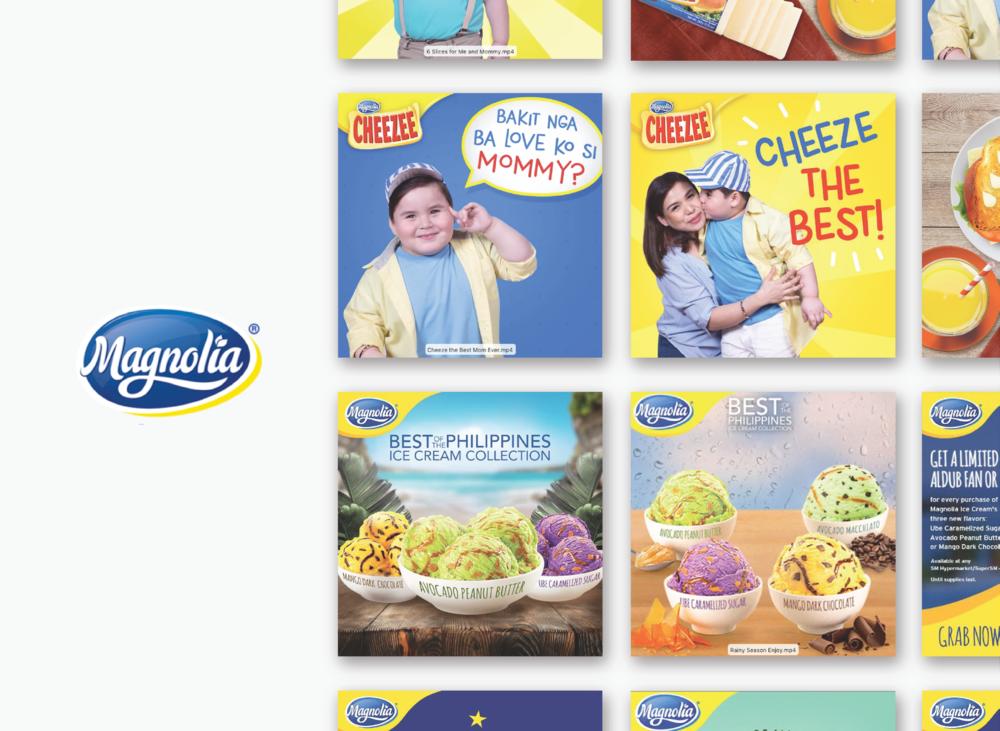 Digital Ads for Magnolia Philippines