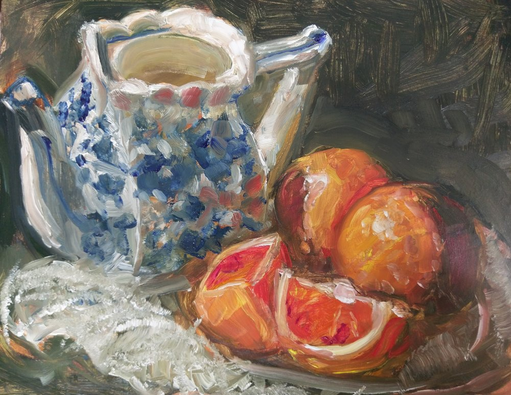 Tea and Oranges