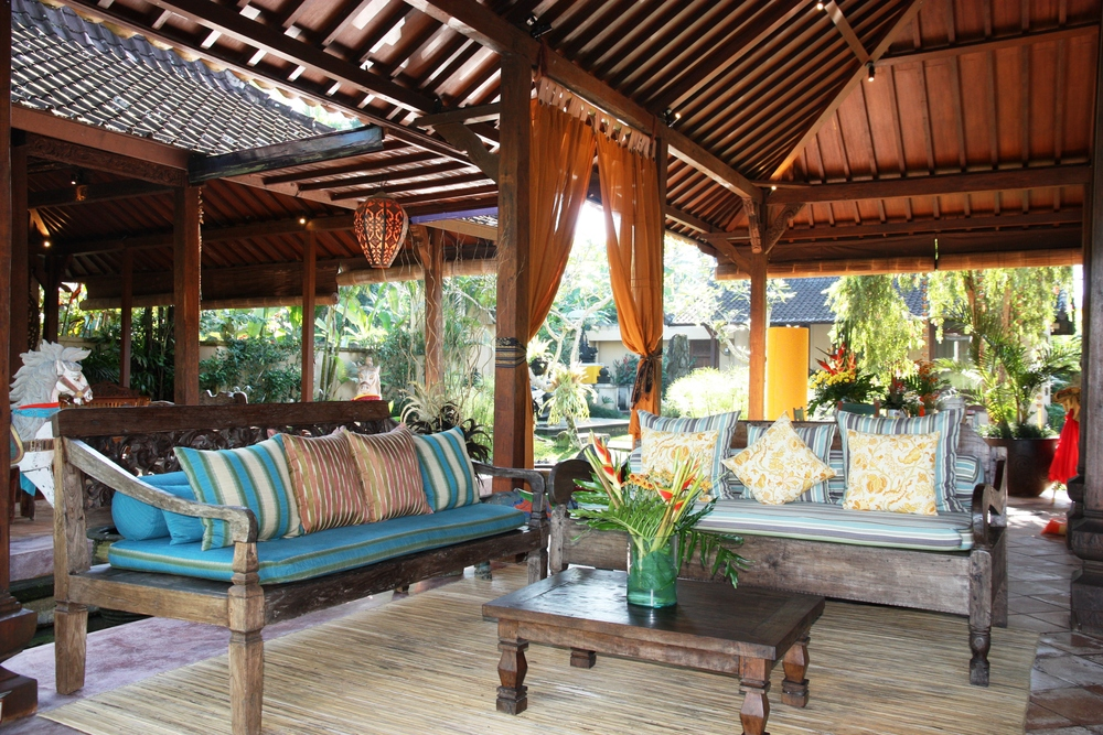 A perfect setting for a nature and yoga retreat Bali