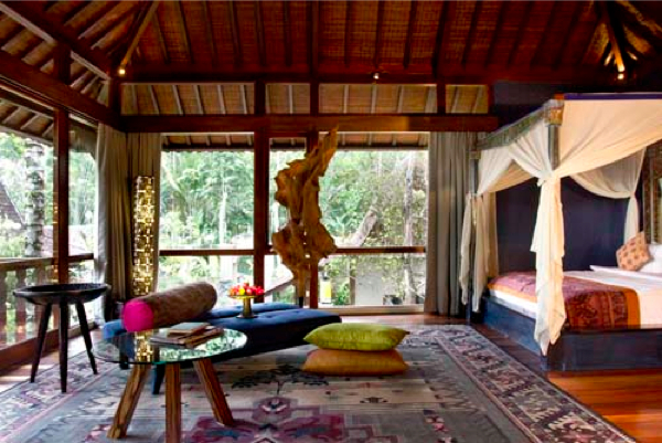 A pampering yoga retreat north Bali