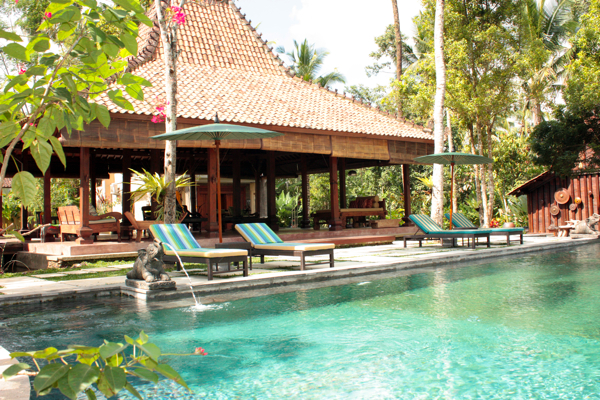 Your relaxing nature and yoga retreat Bali