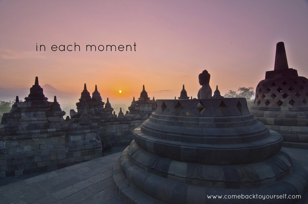 mindfulness in each moment