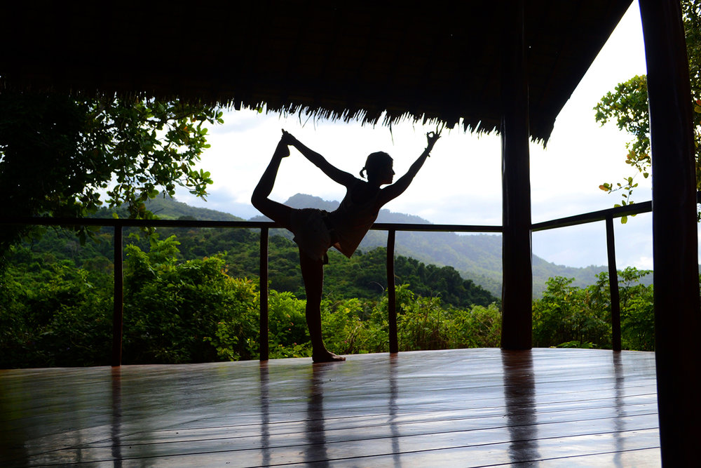 yoga retreat north bali