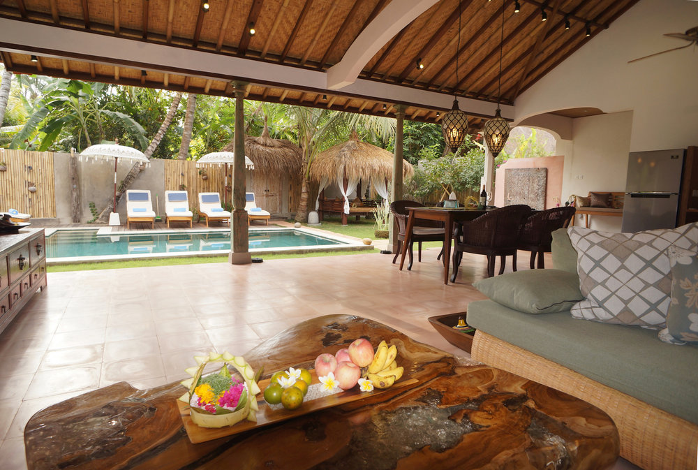 A pampering small group yoga retreat Bali