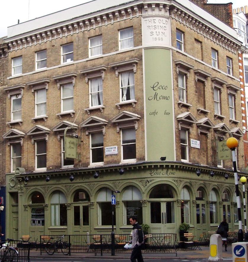 Coco Momo; London, England; Food in London