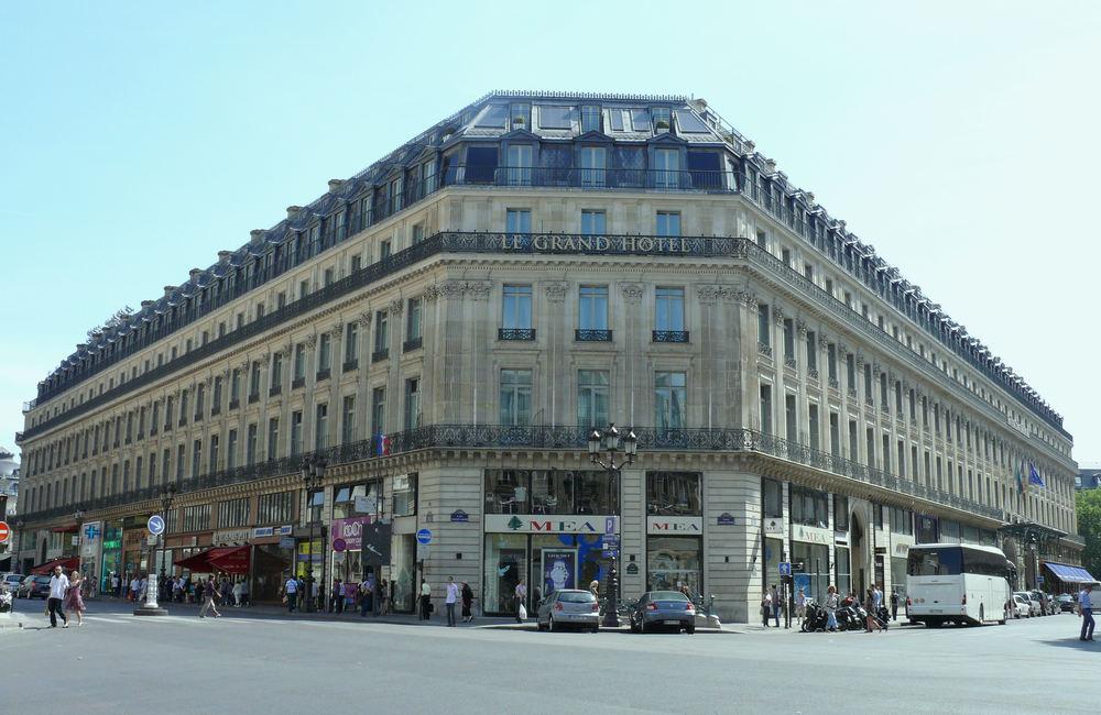 Paris, France; Le Grand Hotel; Hotel in Paris