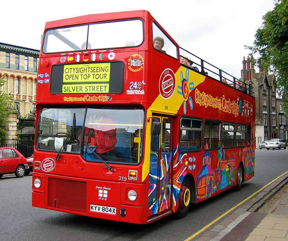 London, England; Tour bus; Double decker