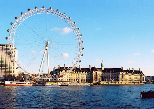 London, England; London Eye