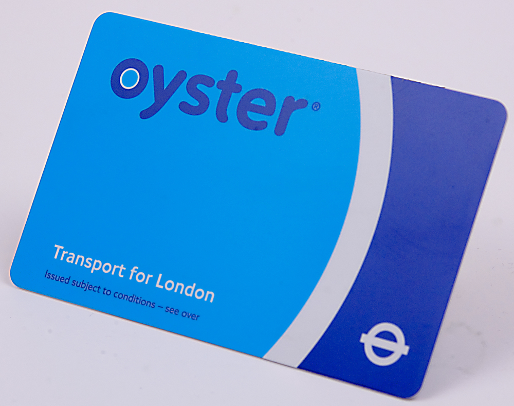 Oyster card; London, England; transport for london