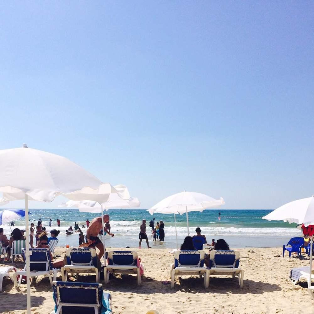 Tel Aviv, Israel; Neve Zedek, Tel Aviv beaches; Alma beach