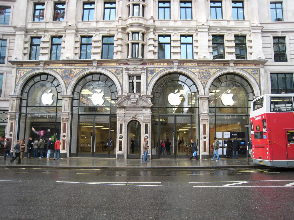 Apple; London, England