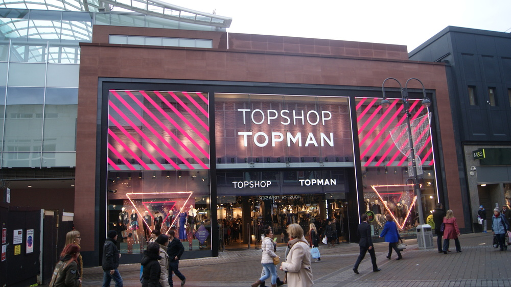 Topshop; Topman; London, England