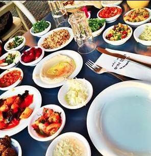 Old man and the sea; Tel Aviv, Israel; Med food; Healthy; Israeli food