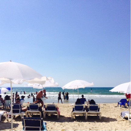 Alma Beach; Tel Aviv, Israel; Tel Aviv beaches