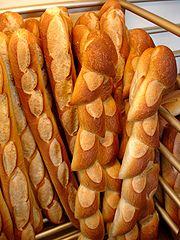 Bread; French bread; Le pain; Paris, France