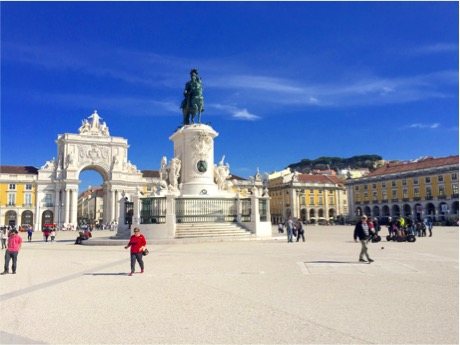 Part of Praça do Comércio