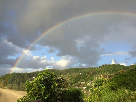 Byron Bay rainbow