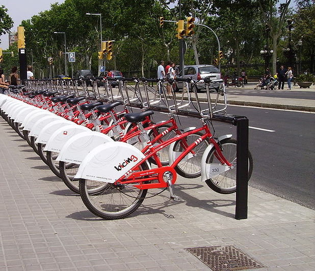 El Bicing Barcelona