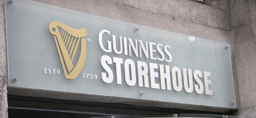 Guinness Store House in Dublin
