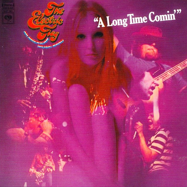 "The Electric Flag ""A Long Time Comin'"" artwork #theelectricflag #alongtimecomin #barrygoldberg  #michaelbloomfield #twojewsblues #music #peace #love"