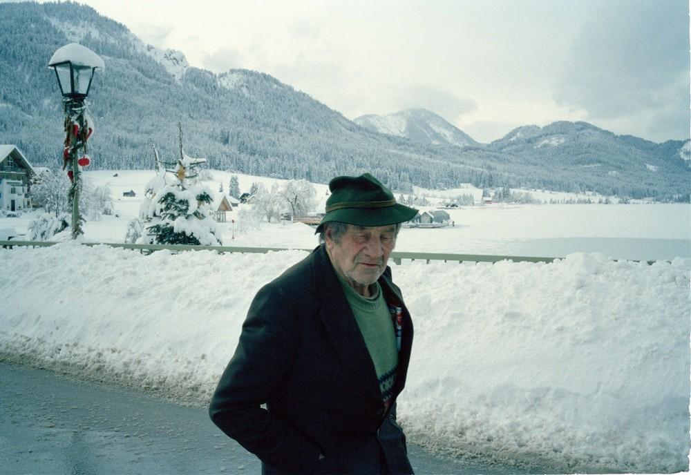 Old men at Weissensee