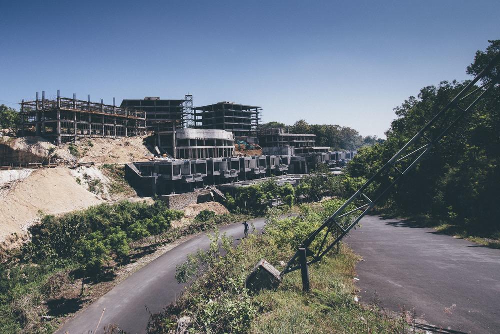 Dreamland Beachin jättihotellin on tarkoitus valmistua 2016.