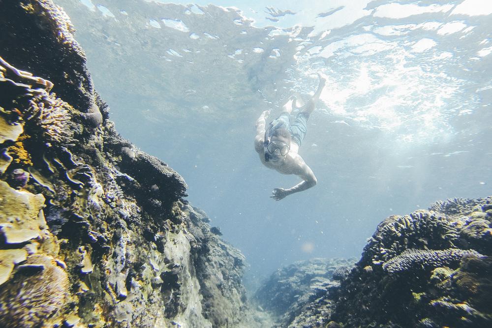 Vaihtoehto Rovaniemen urheiluopiston uimahallille: Balin meri.