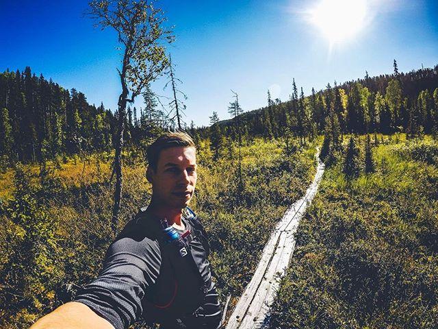 Runner's high in Korouoma canyon 👌🏽#suomi100 #trailrunning