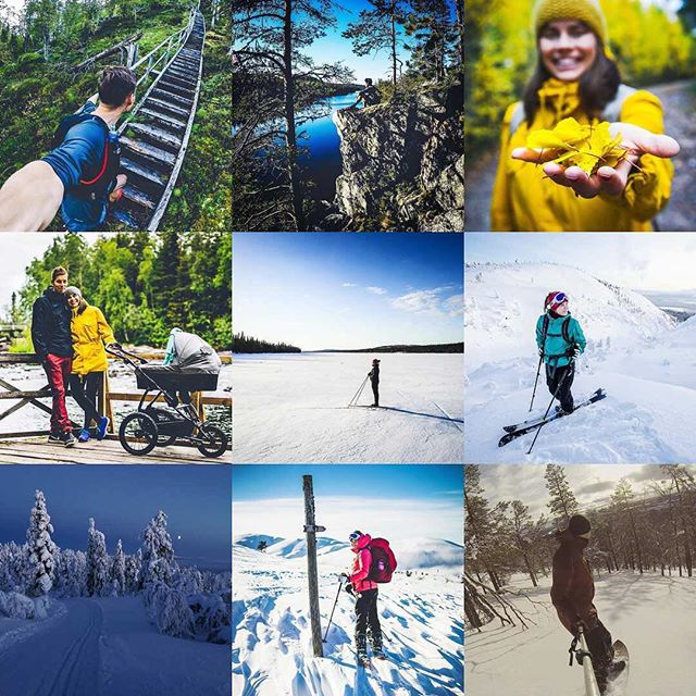Quite a modest year in our social media channels, but nothing could be further from the truth! To sum it up: Oh boy 💖On the last day of 2017 we're going to take our son for one more hike – for a four months old, he has spent lots of time outdoors and discovering the wonders of life in Lapland. Happy NYE folks!