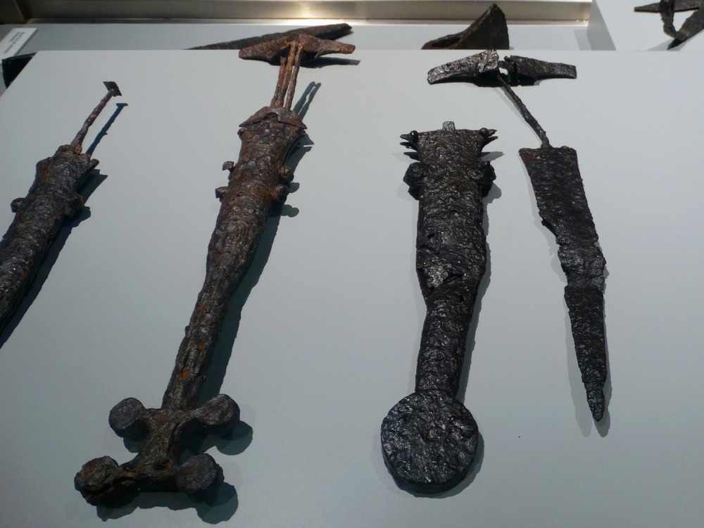 iron age battle artifacts