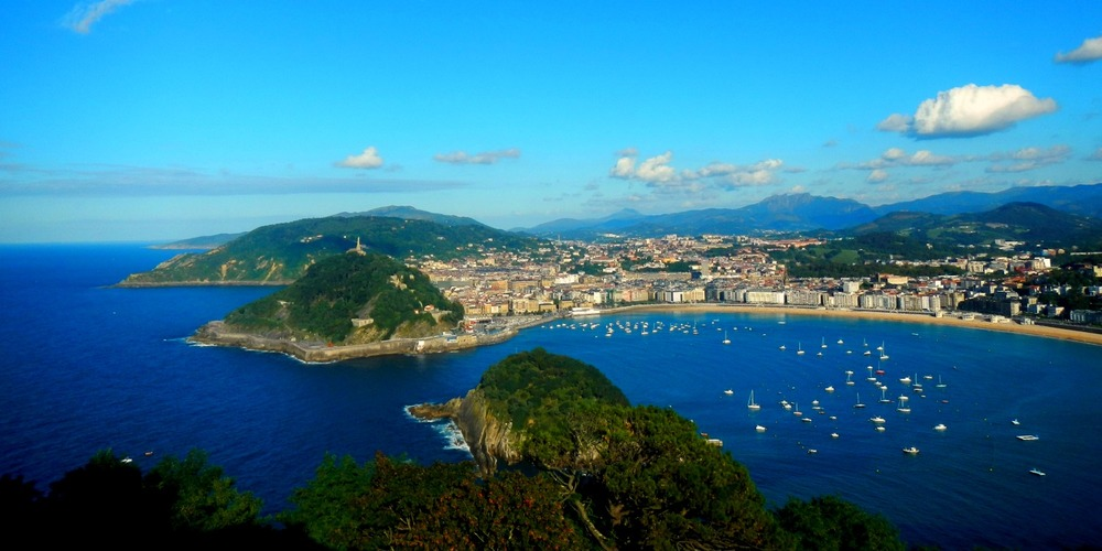 Rural areas with bucolic charm lie just beyond sophisticated cities such as San Sebastian