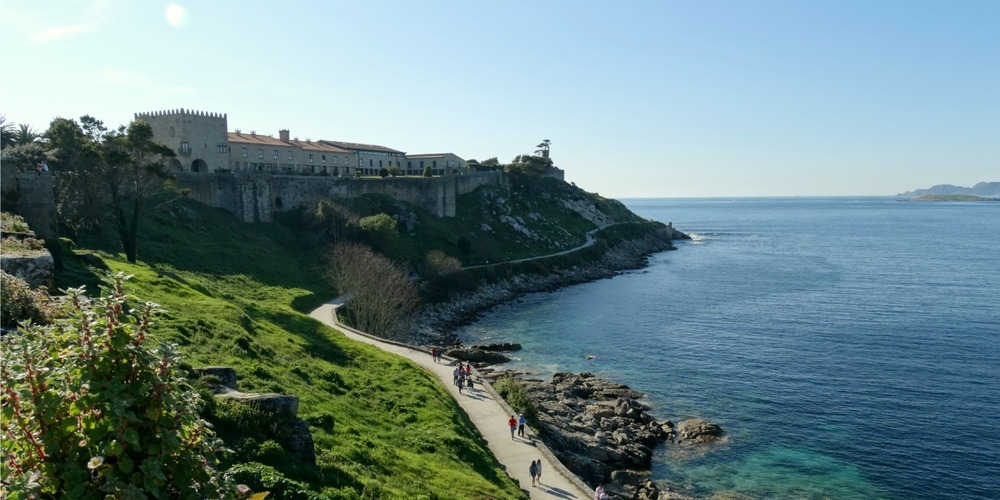 One of Northern Spain´s historic Paradors right on the Atlantic