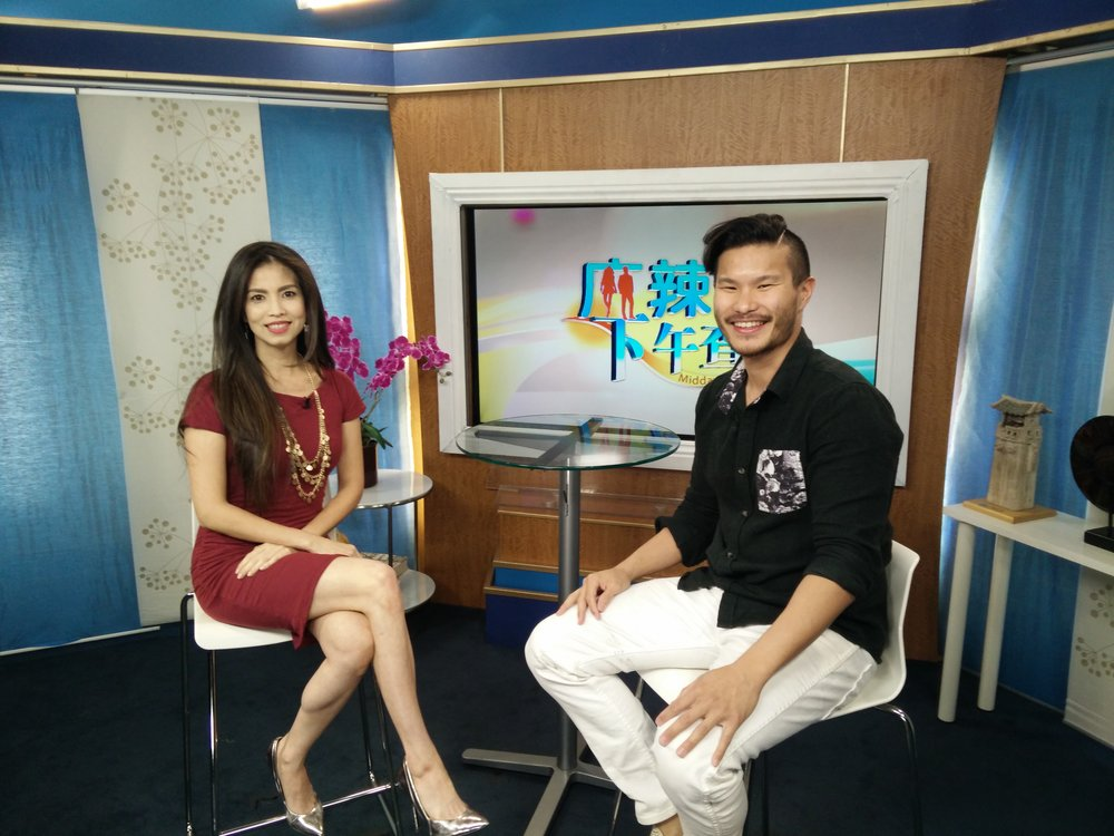 LA Channel 18.  Midday Buzz with Bell Tsou