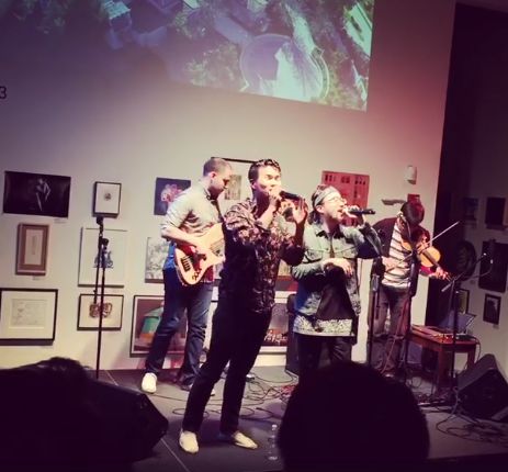 San Francisco, California.  @SOMA Arts, live with Jason Chu and Joe Kye