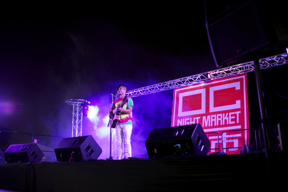 Live at the OC Night Market Festival