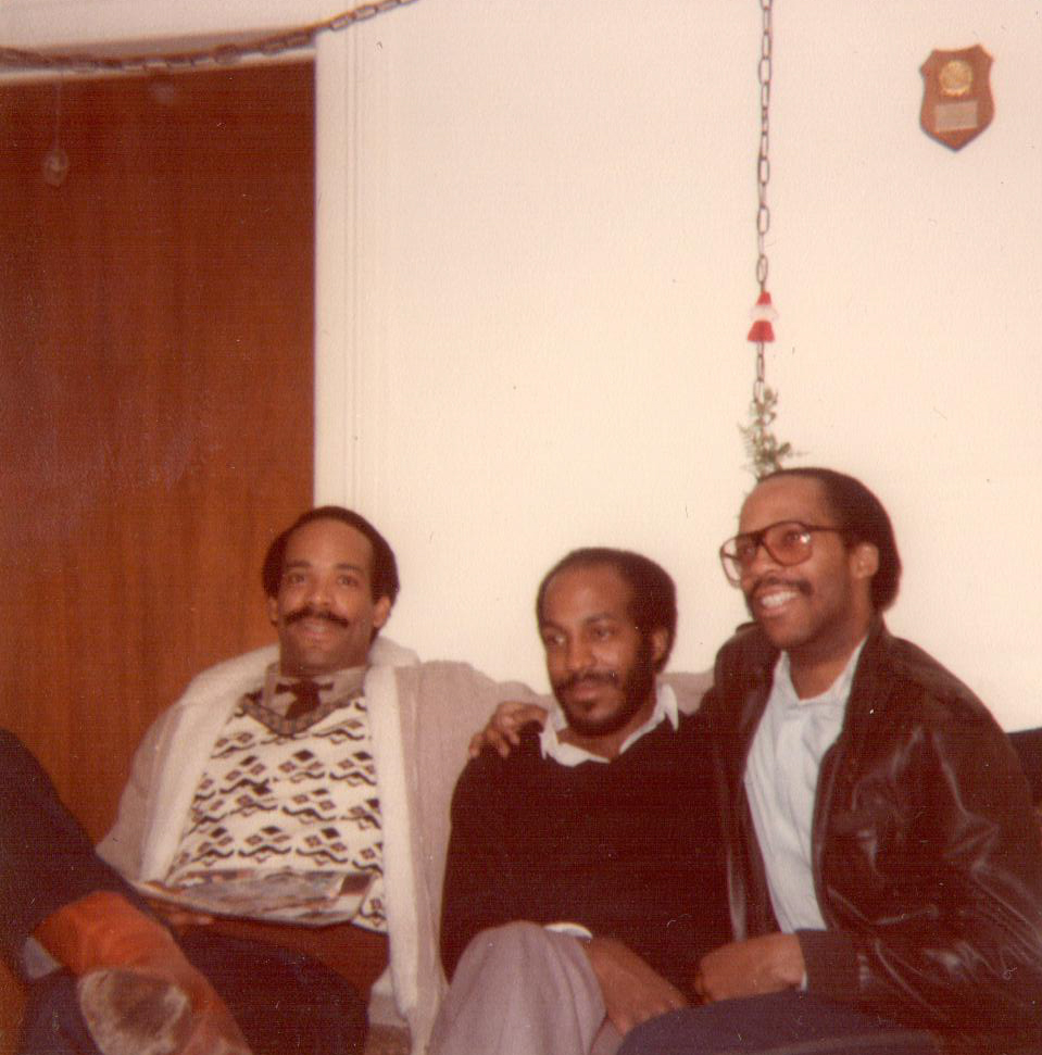 Found family photo of my uncles and father (left to right respectively).